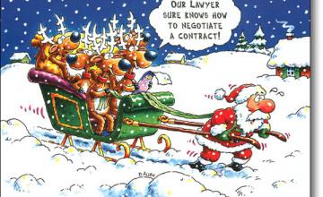 Free Funny Christmas Wallpaper