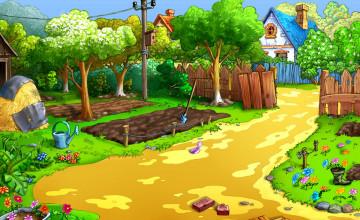 Free Garden Wallpaper Backgrounds