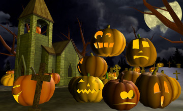 Free Halloween Screensavers and Wallpaper
