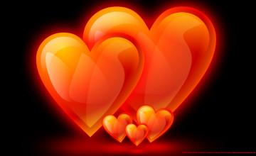 Free Hearts Wallpaper and Screensavers