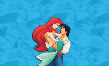 Free Little Mermaid Wallpaper