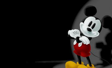 Free Live Images Wallpaper of Mickey Mouse