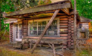 Free Log Cabin Wallpapers