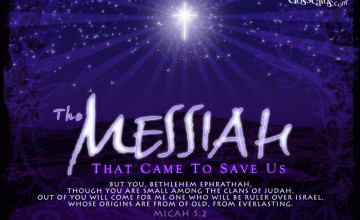 Free Messianic Wallpaper