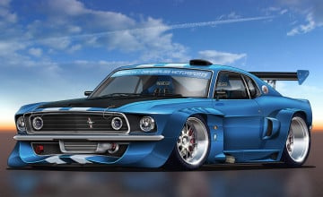 Free Muscle Car Wallpaper Downloads
