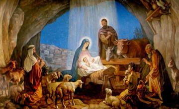 Free Nativity Wallpaper