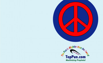 Free Peace Sign Wallpaper Downloads