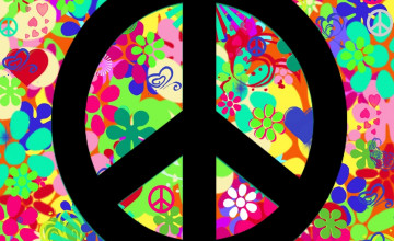 Free Peace Sign Wallpaper