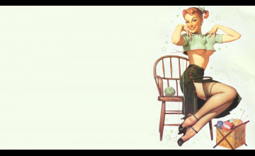 Free Pin Up Girl Wallpapers