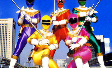 Free Power Rangers Wallpapers