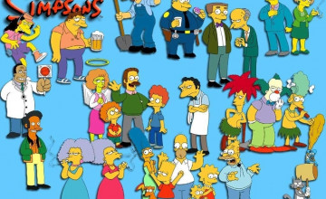 Free Simpsons Wallpaper