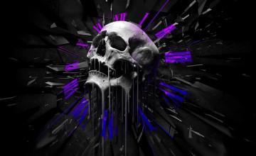 Free Skulls Wallpaper