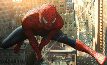 Free Spiderman Widescreen Wallpaper