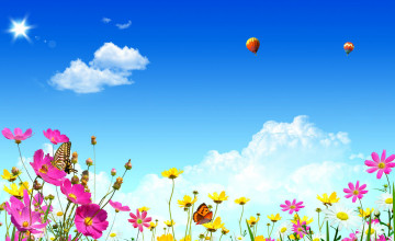 Free Spring Background or Wallpaper
