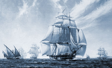 Free Tall Ship Wallpaper