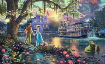 Free Thomas Kinkade Disney Wallpaper