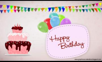 Free Wallpaper Birthday Card