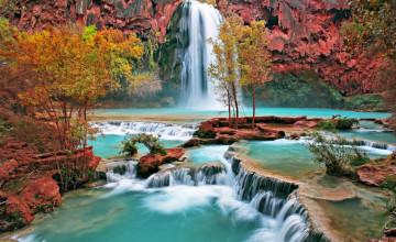 Free Wallpaper Waterfalls