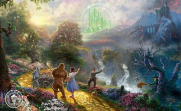 Free Wizard of Oz Wallpaper