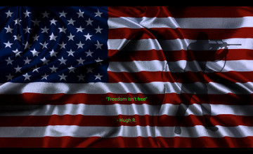 Freedom Isn\'t Free Wallpaper