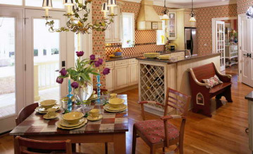 French Country Wallpaper for Kitchens