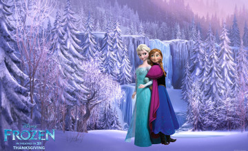 Frozen Elsa Anna Wallpaper