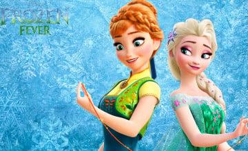 Frozen Fever Elsa Wallpaper