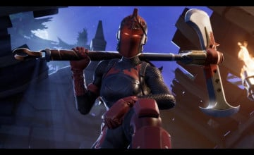 Frozen Red Knight Fortnite Wallpapers