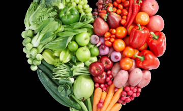Fruit and Vegetable Wallpaper