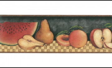 Fruit Wallpaper Border