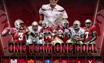 FSU 2014 Football Schedule Wallpaper