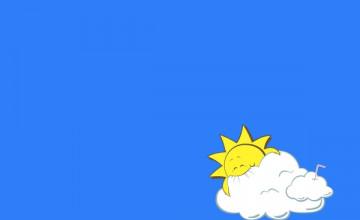 Funny Cloud Wallpaper