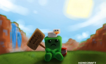 Funny Minecraft Creeper Wallpapers