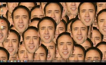Funny Nicolas Cage Wallpaper
