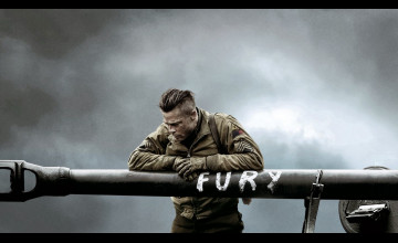 Fury Movie Wallpaper