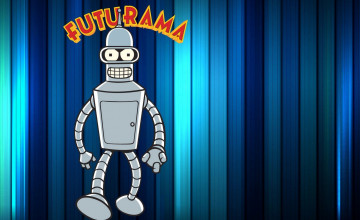 Futurama Bender Wallpaper