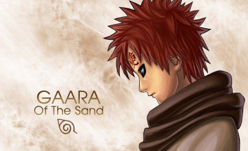 Gaara Kazekage Wallpaper