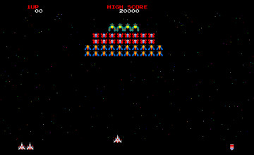 Galaga Wallpapers