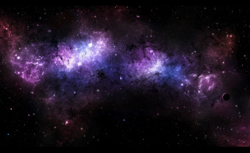 Galaxies in the Universe Wallpaper