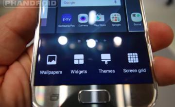 Galaxy S7 Home Screens Wallpaper