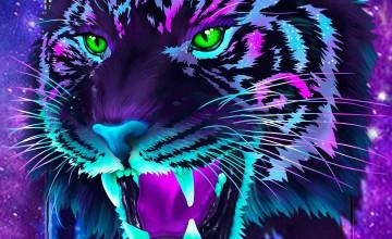 Galaxy Tiger Wallpapers