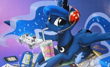 Gamer Luna Wallpaper