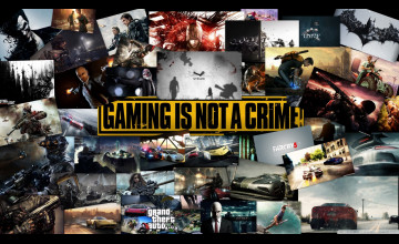 Gaming Is Not A Crime Wallpapers