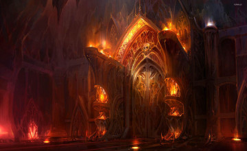 Gates of Hell Wallpaper
