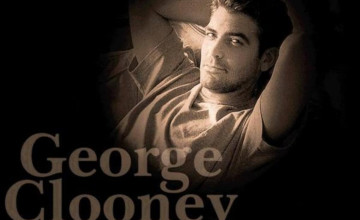 George Clooney Star Wallpaper