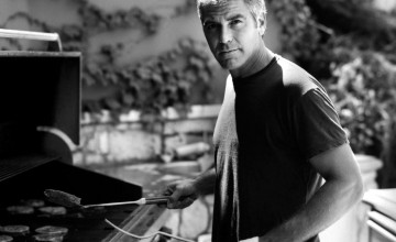 George Clooney Wallpaper Barbecue