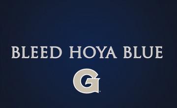 Georgetown Hoyas Logo Wallpaper