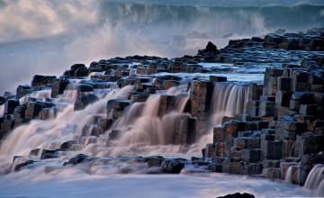Giant's Causeway Northern Ireland Wallpaper