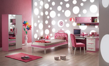 Girl Bedroom Wallpaper