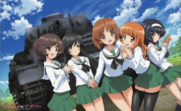 Girls und Panzer Wallpaper